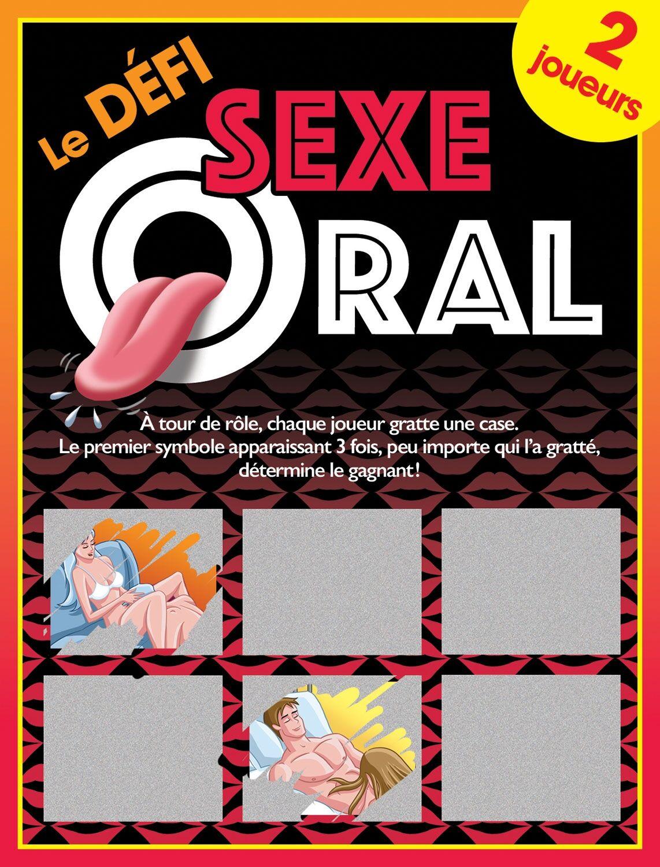 Ozzé Jeu de Cartes à Gratter Le Défi Sexe Oral