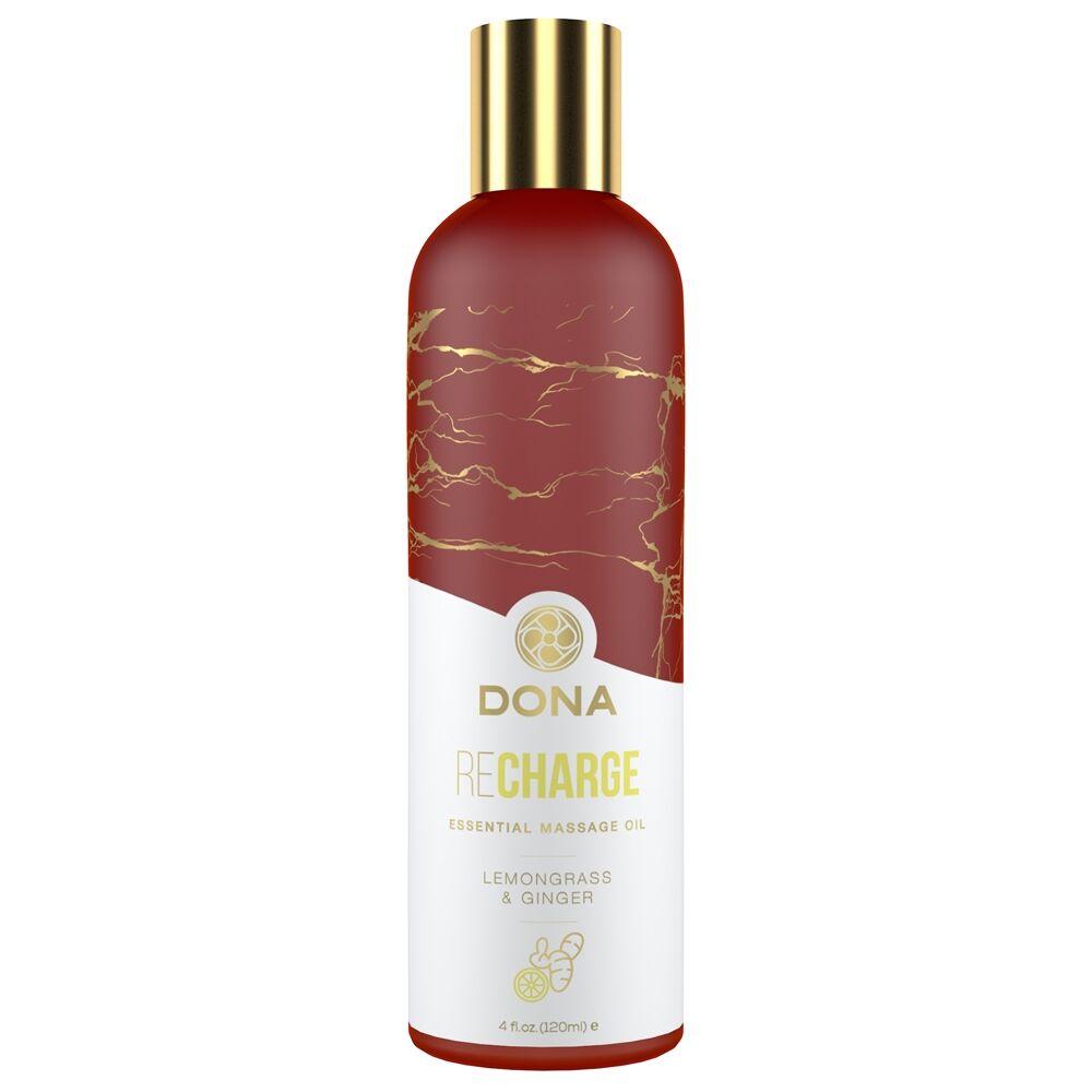 DONA by JO Huile de Massage Essentielle REcharge Citronnelle et Gingembre 120 ml