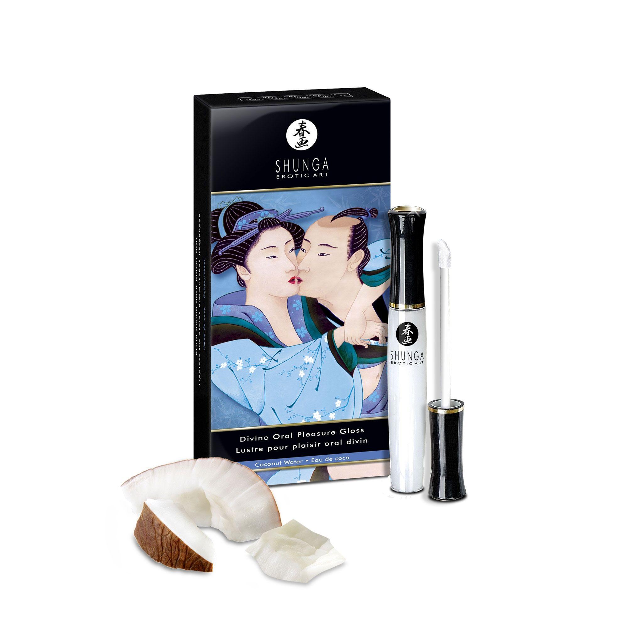 Shunga Gloss Plaisir Oral Divin Eau de Coco