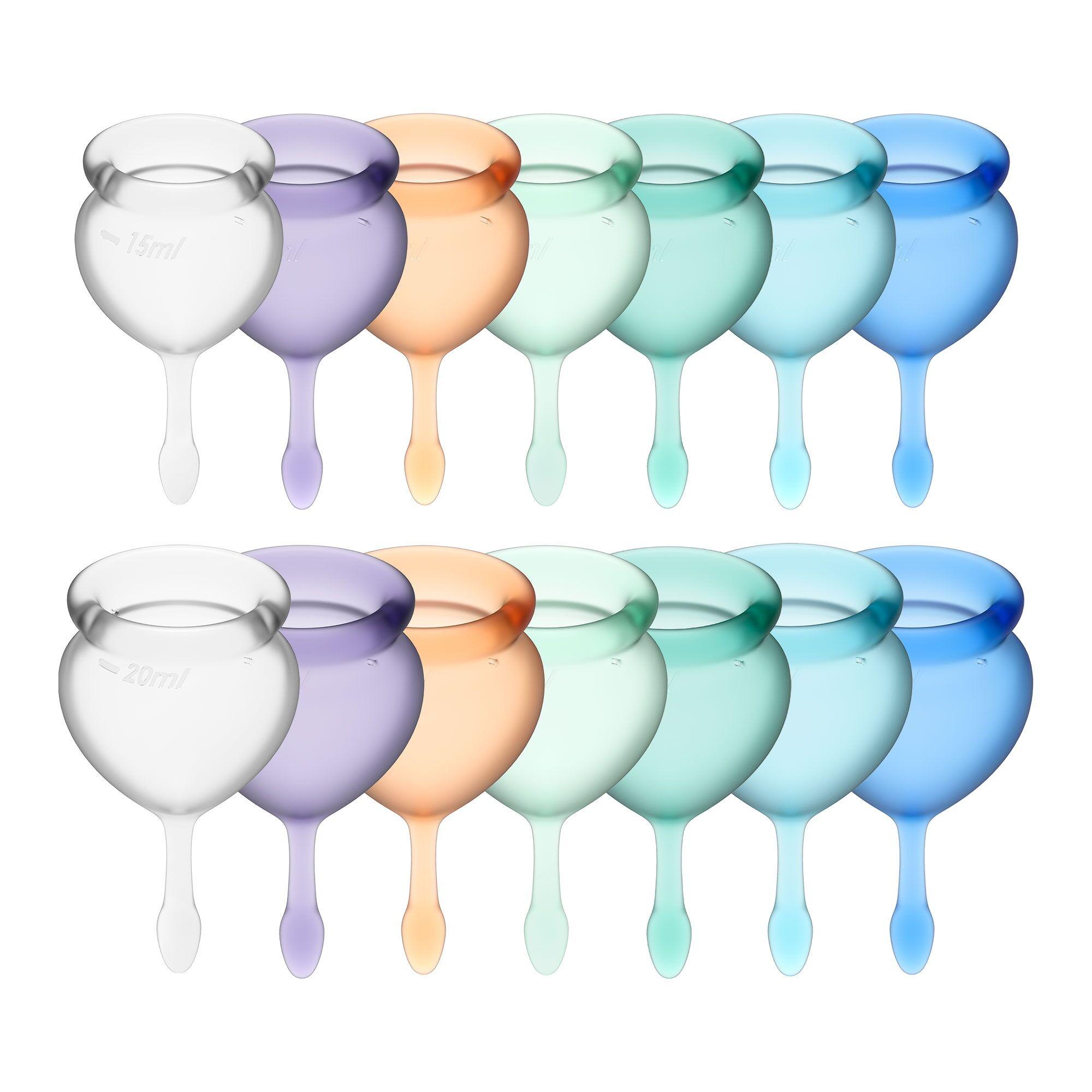 Satisfyer Coupe Menstruelle Satisfyer Feel Good - Couleur : Blanc