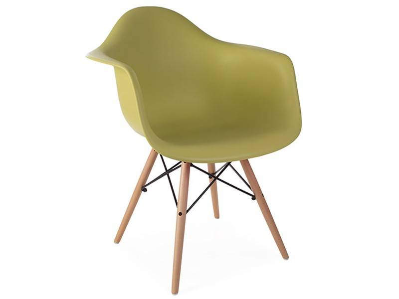 Famous Design Chaise DAW - Vert moutarde