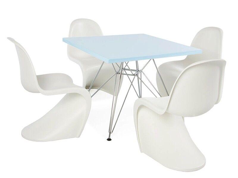 Famous Design Table enfant Eiffel - 4 chaises Panton
