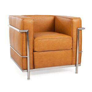 Famous Design LC2 Fauteuil Le Corbusier - Caramel - Publicité