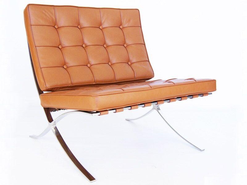 Famous Design Chaise Barcelona - Havane