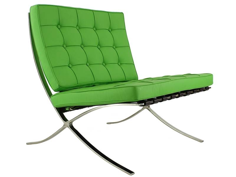 Famous Design Chaise Barcelona - Vert pomme