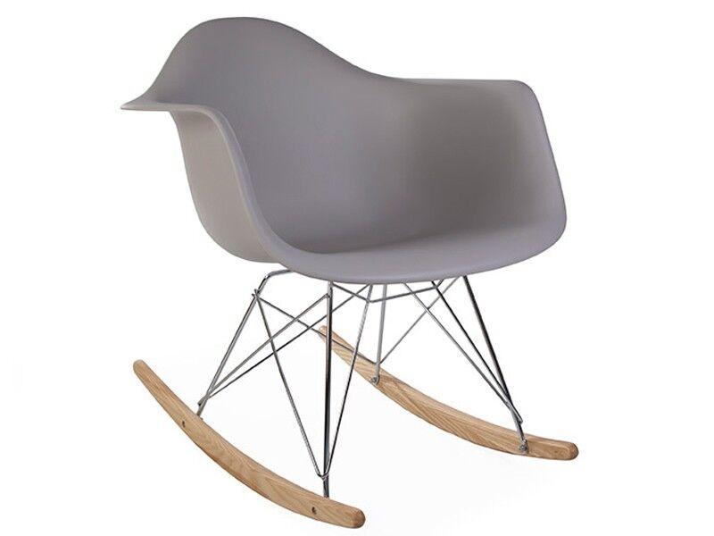 Famous Design Eames rocking chair RAR - Gris souris