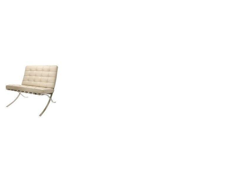 Famous Design Chaise Barcelona - Gris beige
