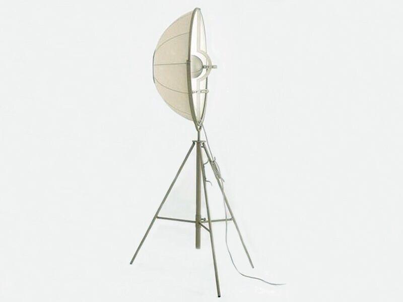 famous design lampadaire fortuny - blanc