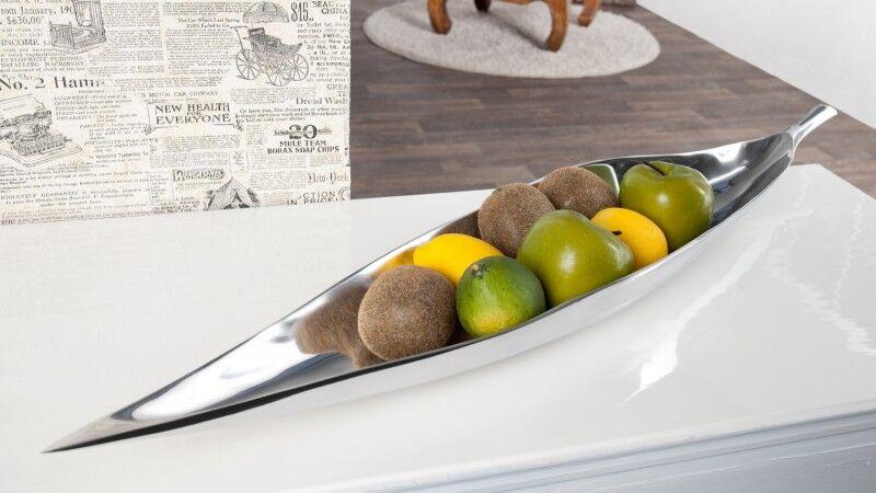 gdegdesign Coupe à fruits design aluminium poli - Iole
