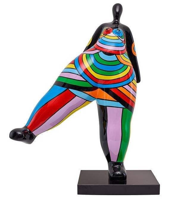 gdegdesign Statue design femme multicolore - Milla