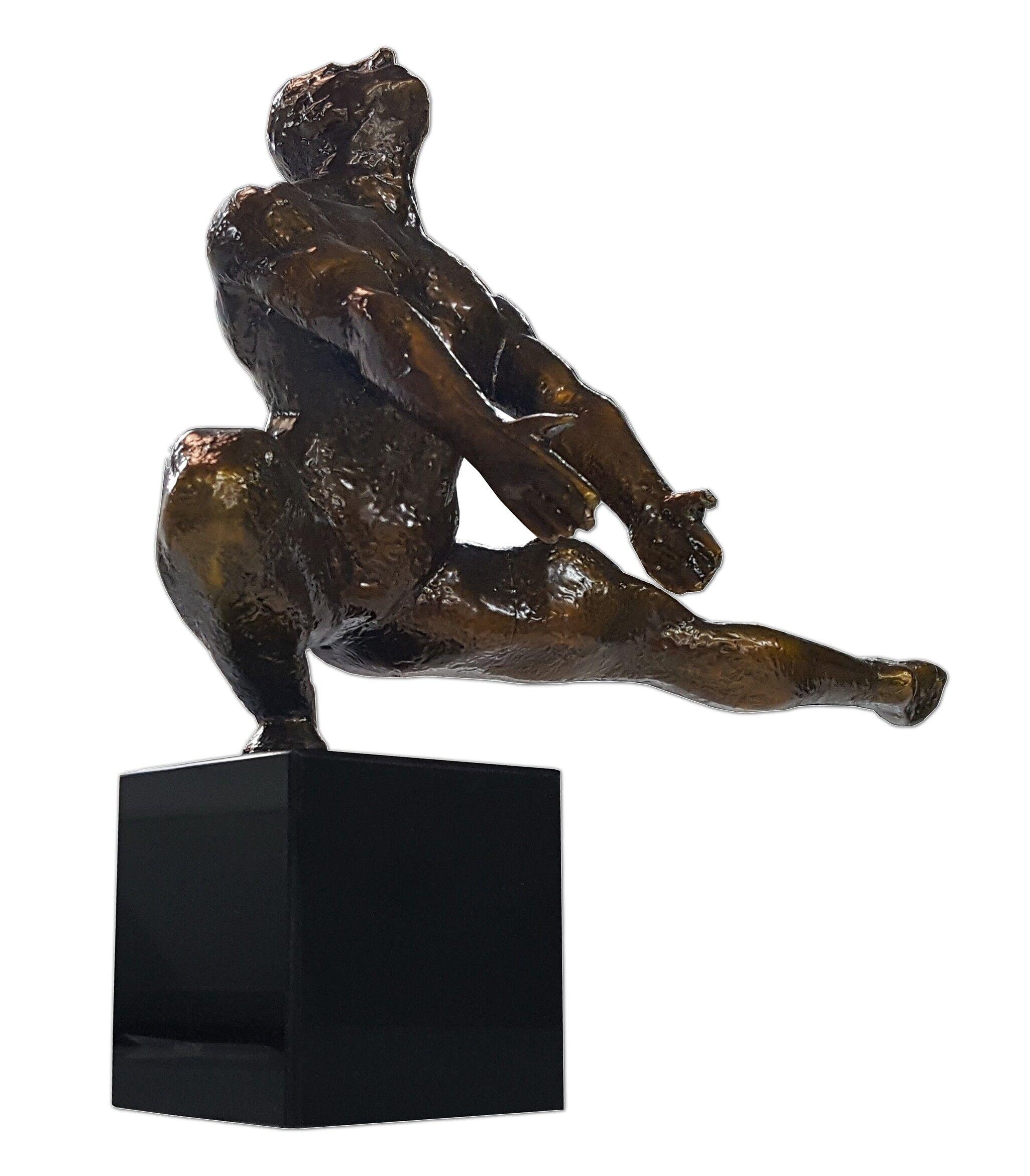 gdegdesign Statue design homme athlète couleur bronze - Daryl