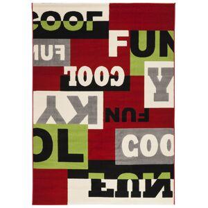 gdegdesign Tapis design rectangulaire multicolore 230x160 cm - Clark - Publicité