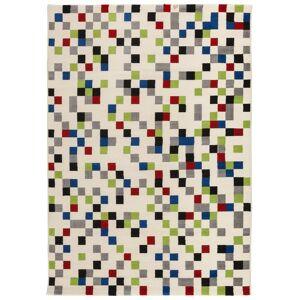 gdegdesign Tapis design rectangulaire multicolore 230x160 cm - Palerme - Publicité