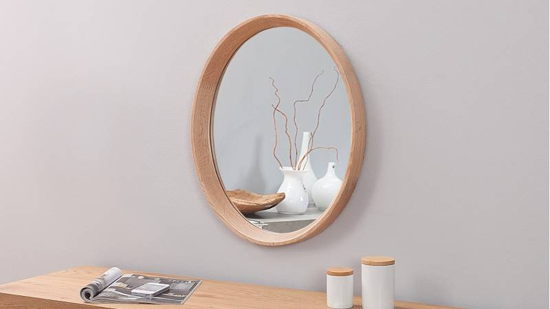 gdegdesign Miroir design ovale c...
