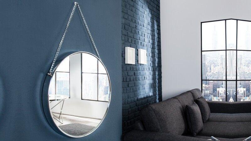 gdegdesign Miroir design rond suspendu - Hawick