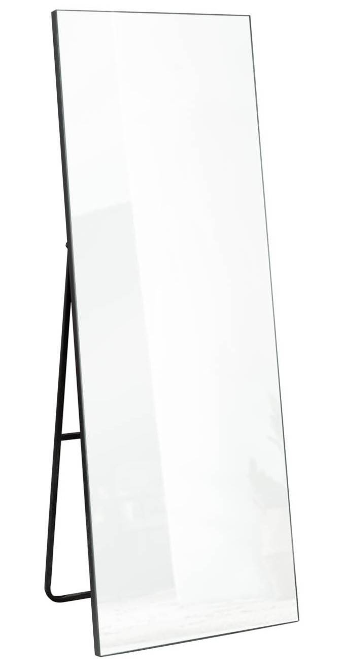 gdegdesign Miroir design psyché rectangulaire noir - Lola