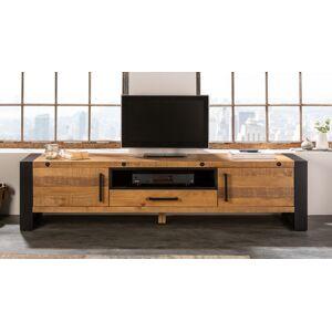 gdegdesign Meuble TV bois et métal industriel 200 cm - Homer - Publicité