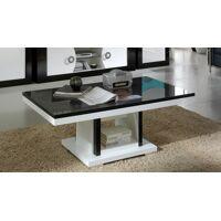 gdegdesign Table basse design noir et blanc - Nevis <br /><b>269.00 EUR</b> gdegdesign