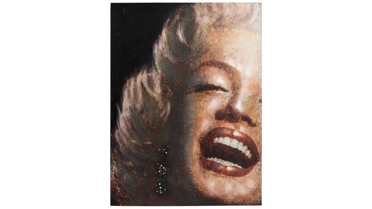 gdegdesign Tableau rectangulaire 120x90 cm Marylin Monroe - Lipik