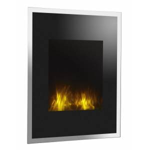 gdegdesign Cheminée verticale électrique bicolore décorative lumineuse LED - Empire State - Publicité