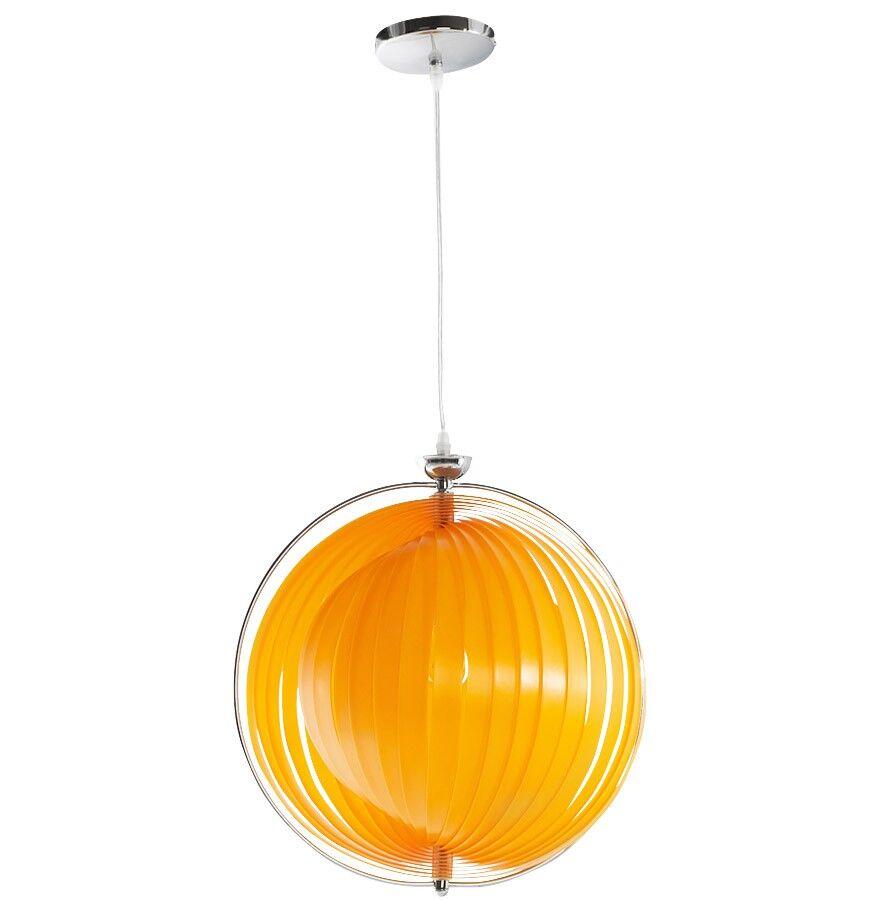gdegdesign Lustre orange suspension boule - Capri