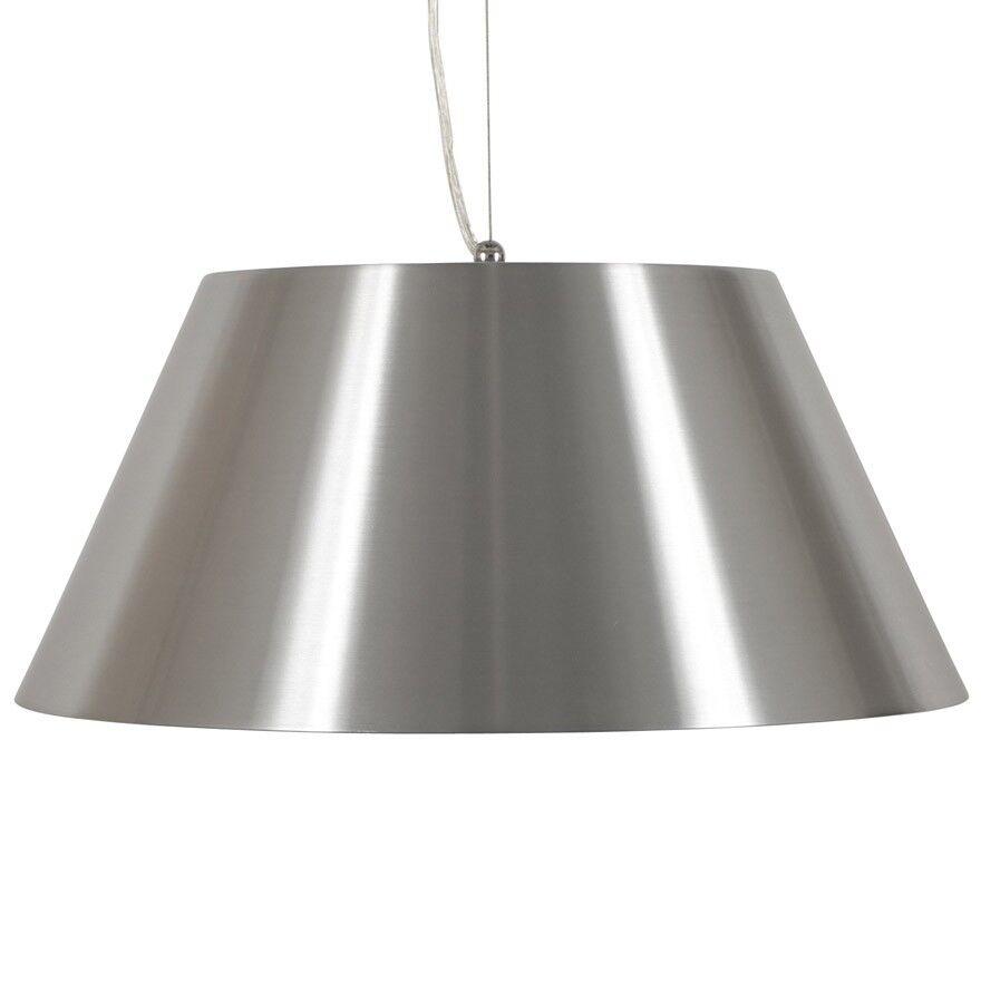 gdegdesign Lustre design aluminium brossé - Kapo