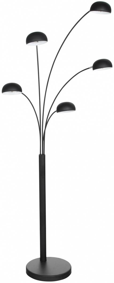 gdegdesign Lampadaire design noir 5 branches - Artifice