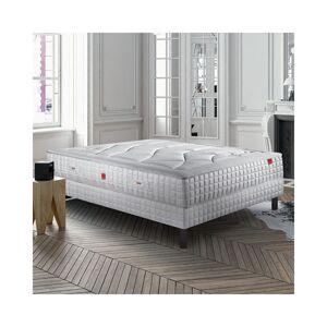 Epeda Ensemble Epeda APICURIA Confort Medium 160x200 avec 2 sommiers - Publicité