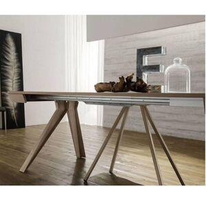 ZAMAGNA Table console Extensible JACK taupe - Publicité