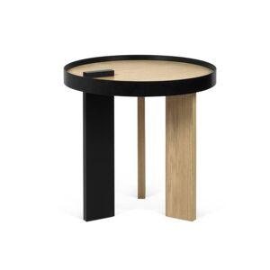 Inside75 Table basse BRUNO 50 PM chêne et métal - Publicité