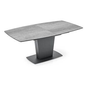 Inside75 Table de repas extensible JADIS PM plateau en ceramique ciment - Publicité
