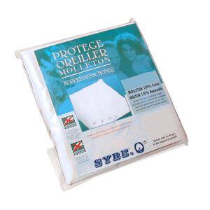 Linnea Housse de protection oreiller 75x50 cm Antonin Molleton absorbant traité anti-acariens - Publicité