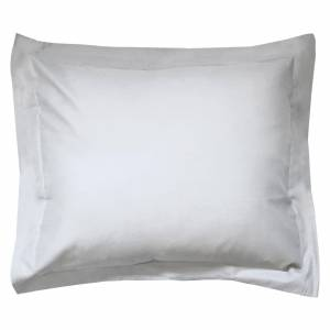 Linnea Taie d'oreiller uni 100x80 cm 100% coton ALTO Calcium - Publicité