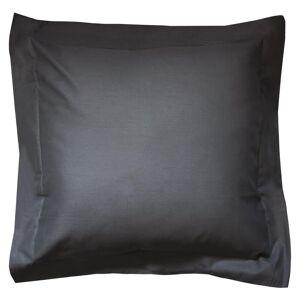 Linnea Taie d'oreiller uni 65x65 cm 100% coton ALTO Noir de lune - Publicité