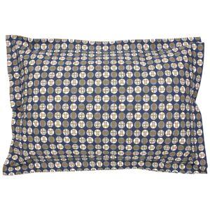 Linnea Taie d'oreiller 70x50 cm Percale 100% coton ROMEO bleu Baltique - Publicité