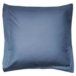 Linnea Taie d'oreiller uni 80x80 cm 100% coton ALTO bleu Jean - Publicité