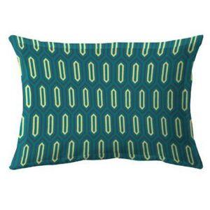 Linnea Taie d'oreiller 50x70 cm percale de coton PAST Bleu Canard - Publicité