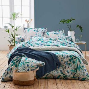 Linnea Taie d'oreiller 65x65 cm satin de coton FRIDA vert emeraude - Publicité