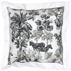 Linnea Taie d'oreiller 65x65 cm satin de coton SAVANE blanc - Publicité