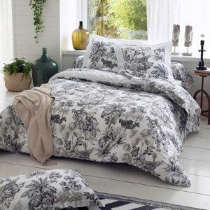 Linnea Taie d'oreiller 70x50 cm satin de coton SAVANE blanc - Publicité
