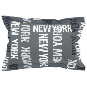 Linnea Taie d'oreiller 70x50 cm 100% coton NEW YORK - Publicité