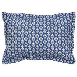 Linnea Taie d'oreiller 70x50 cm 100% coton RIO JADE bleu - Publicité