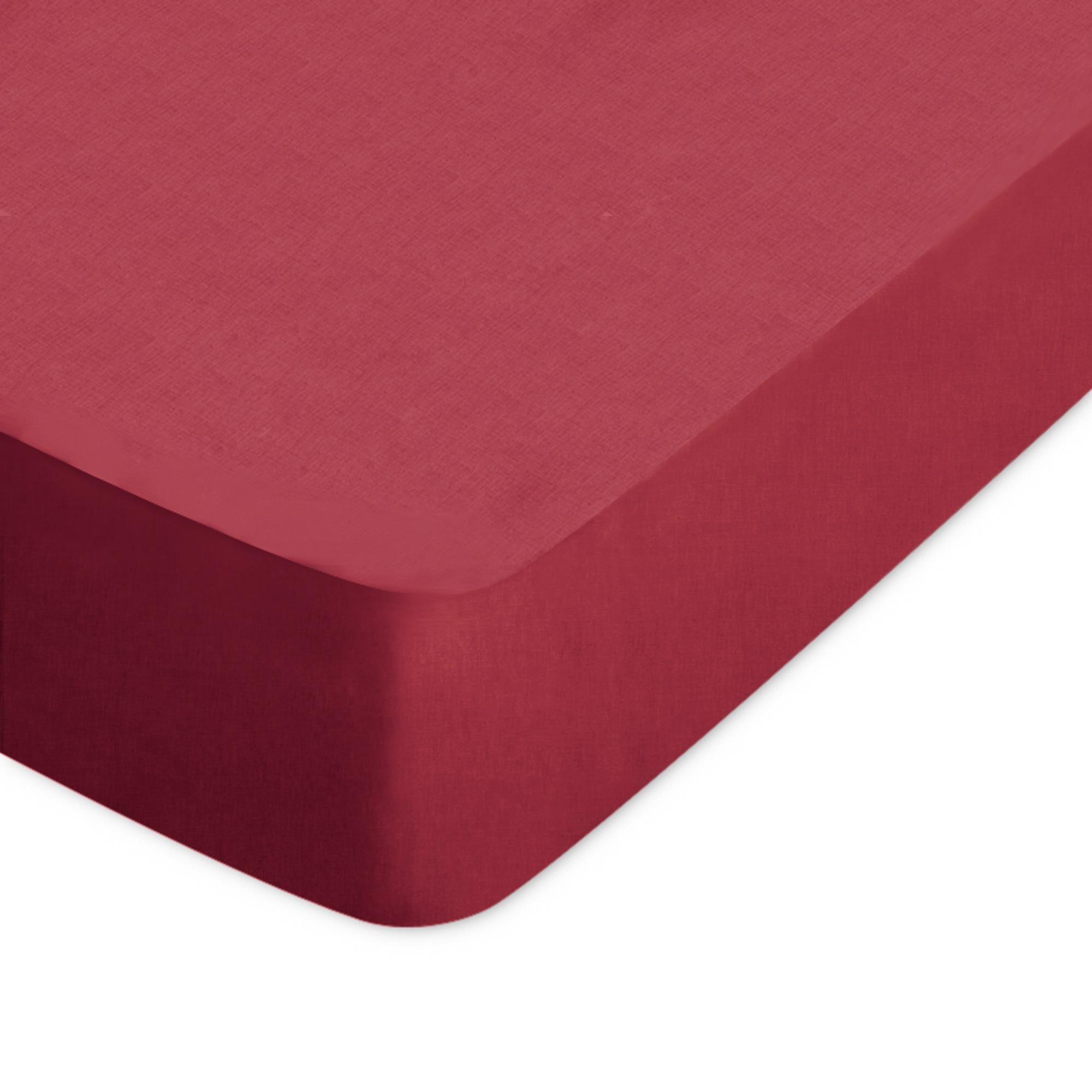 Linnea Drap housse uni 60x120 cm 100% coton ALTO Garance