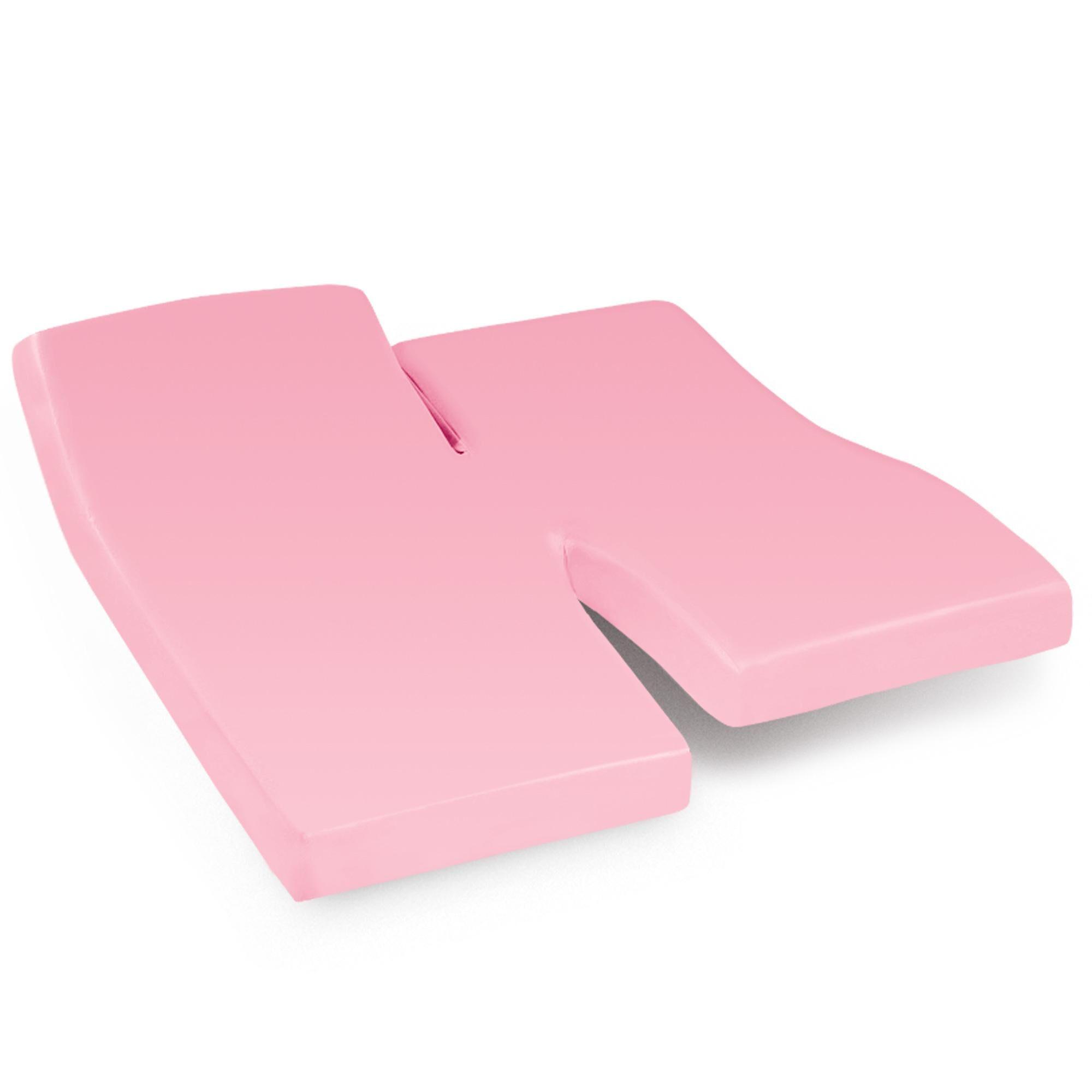 Linnea Drap housse relaxation uni 2x70x200 cm 100% coton ALTO Macaron TPR Tête et pied relevable