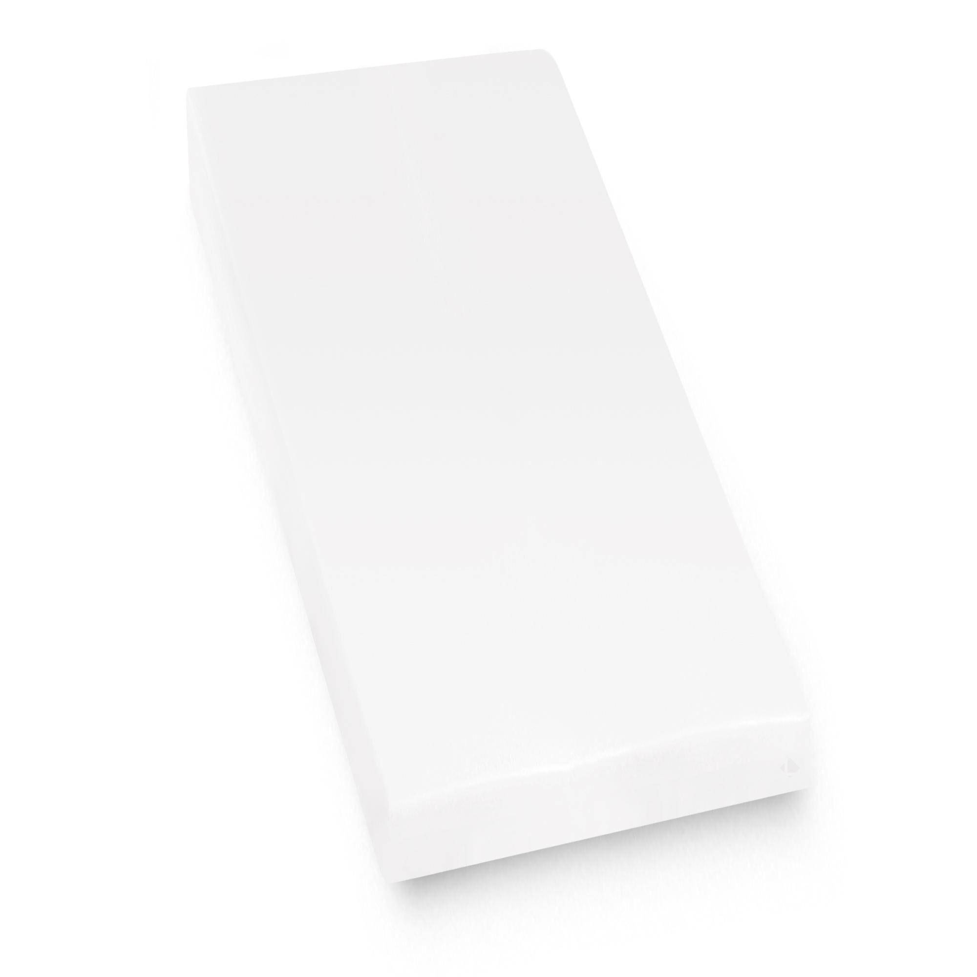 Linnea Protège matelas imperméable 80x190 cm bonnet 30cm ARNON molleton 100% coton contrecollé polyuréthane