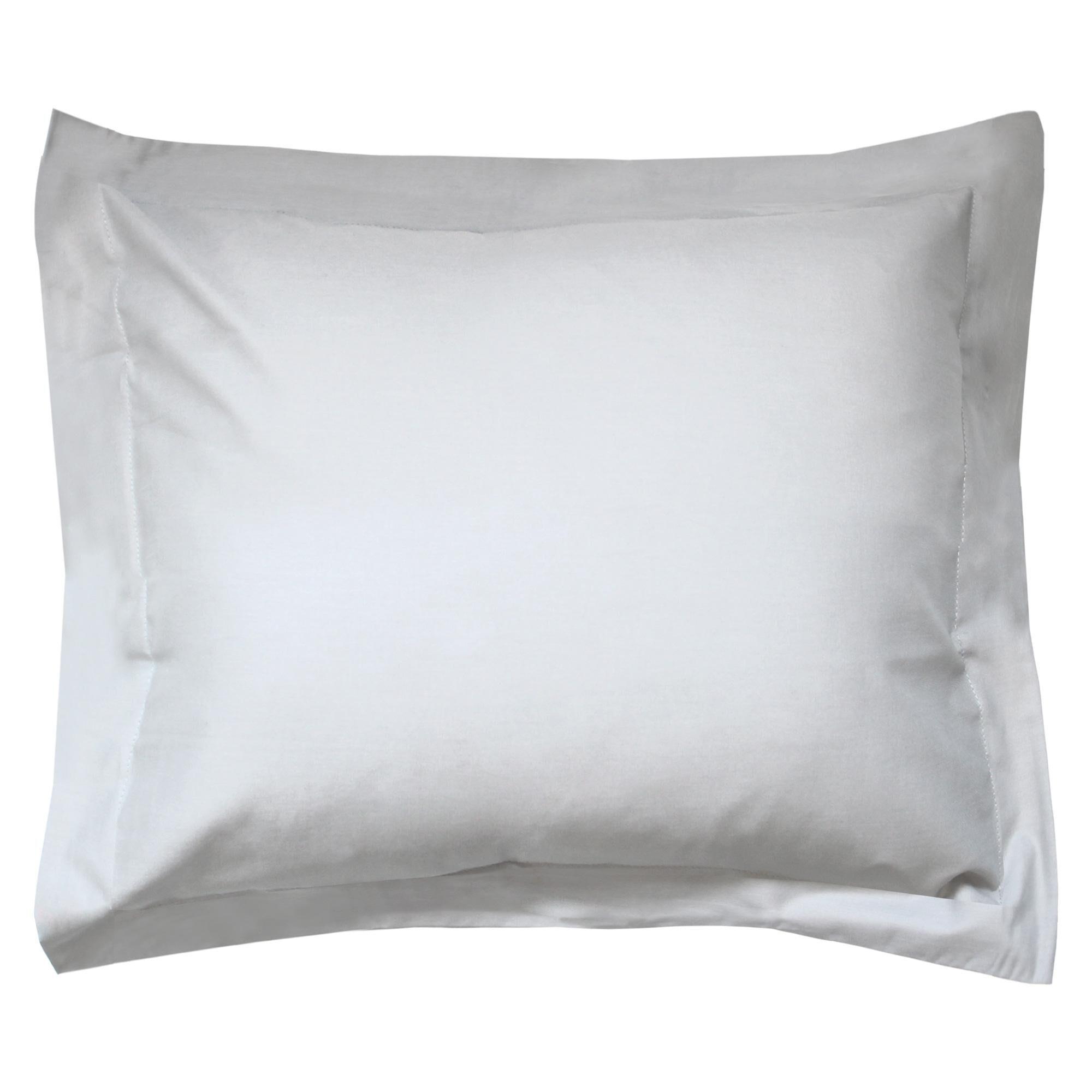 Linnea Taie d'oreiller uni 100x80 cm 100% coton ALTO Calcium