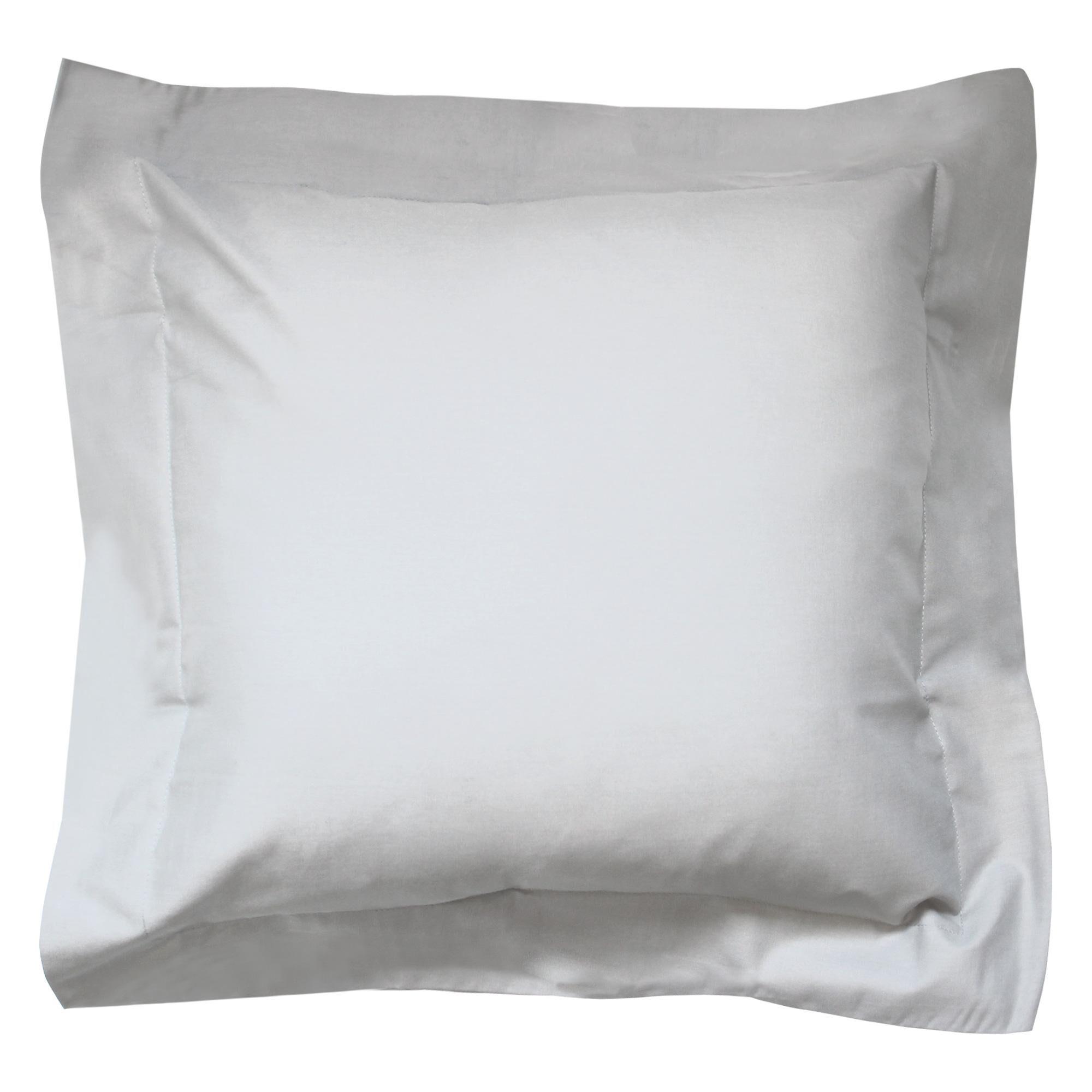Linnea Taie d'oreiller uni 40x40 cm 100% coton ALTO Calcium