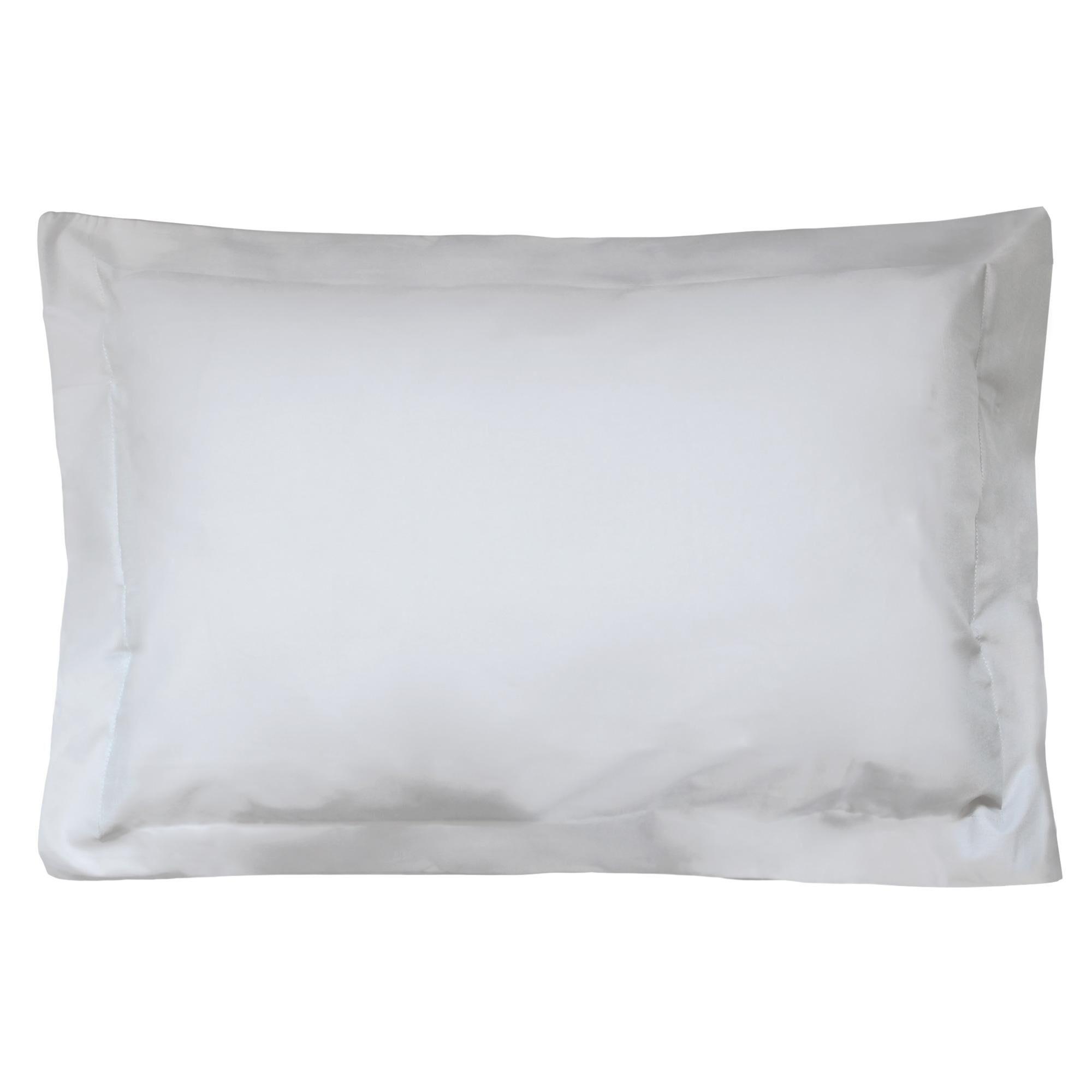 Linnea Taie d'oreiller uni 80x50 cm 100% coton ALTO Calcium