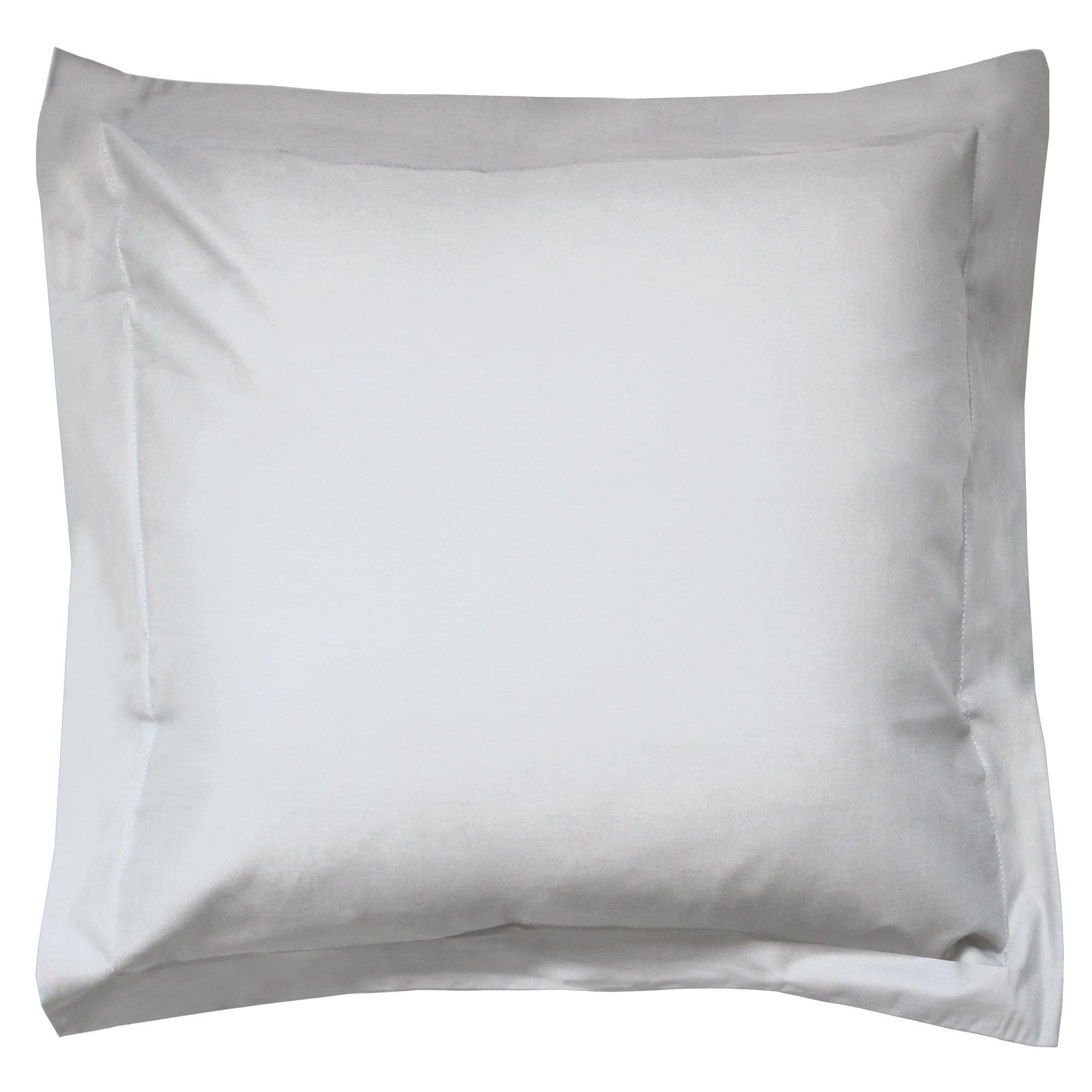 Linnea Taie d'oreiller uni 80x80 cm 100% coton ALTO Calcium