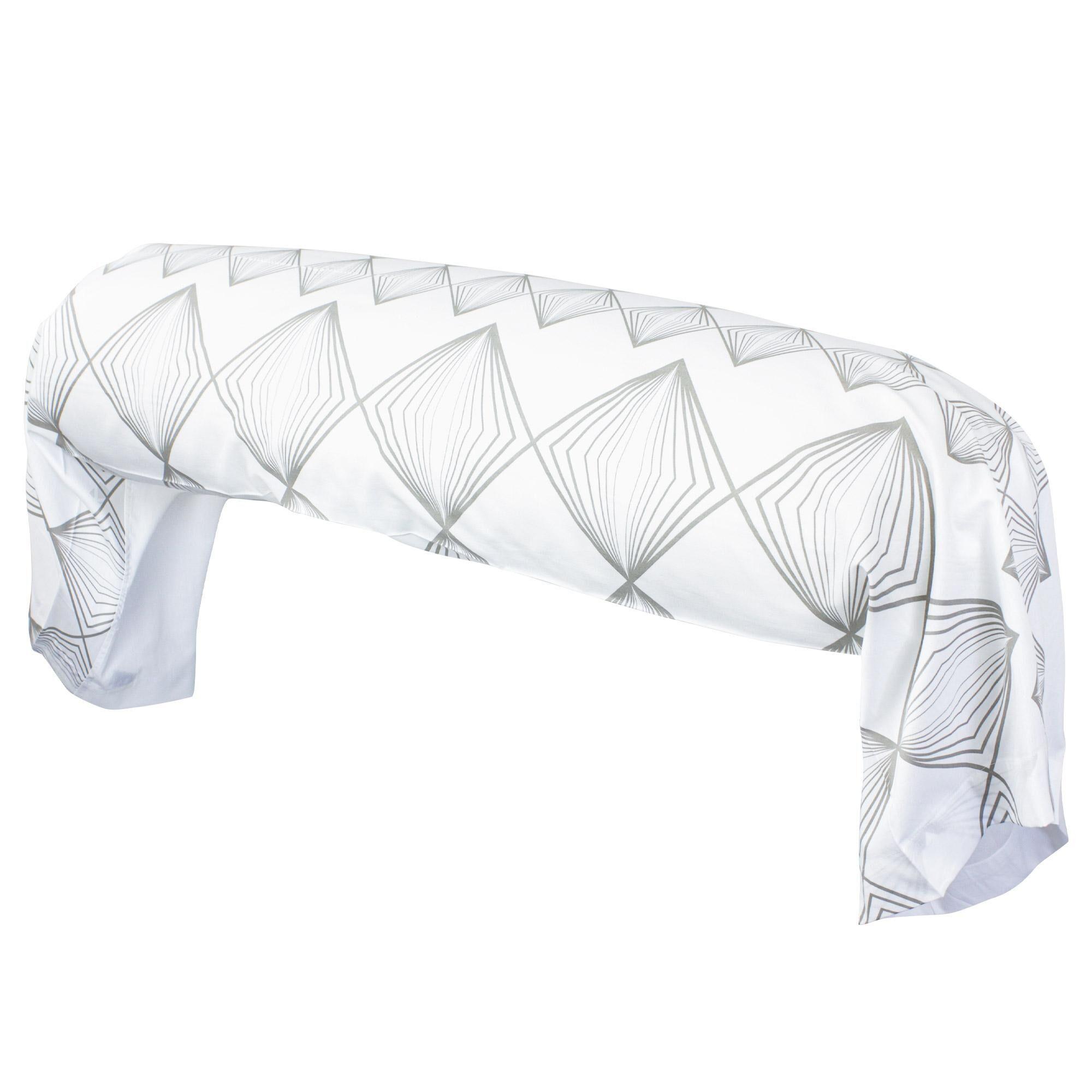Linnea Taie de traversin 140x43 cm 100% coton FOREVER